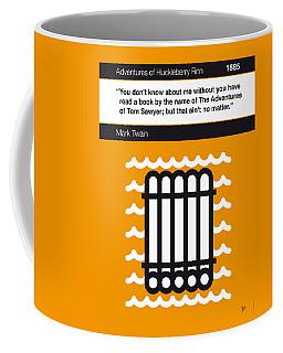 No012-my-huckleberry Finn-book-icon-poster Coffee Mug