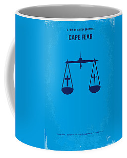 No014 My Cape Fear Minimal Movie Poster Coffee Mug