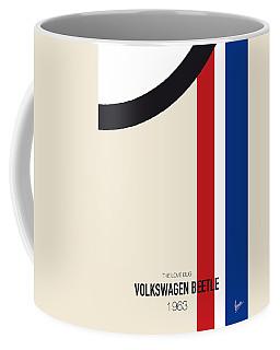 No014 My Herbie Minimal Movie Car Poster Coffee Mug
