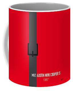 No018 My The Italian Job Minimal Movie Car Poster Coffee Mug