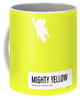No02 My Minimal Color Code Poster Mighty Mouse Coffee Mug