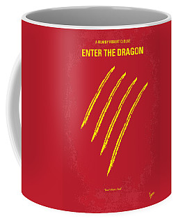 No026 My Enter The Dragon Minimal Movie Poster Coffee Mug