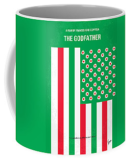 No028 My Godfather Minimal Movie Poster Coffee Mug