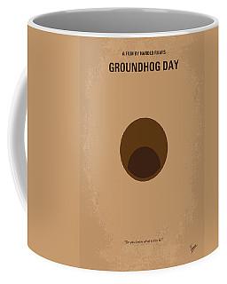 No031 My Groundhog Minimal Movie Poster Coffee Mug