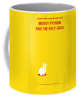 No036 My Monty Python And The Holy Grail Minimal Movie Poster Coffee Mug