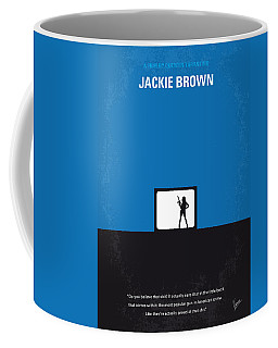 No044 My Jackie Brown Minimal Movie Poster Coffee Mug
