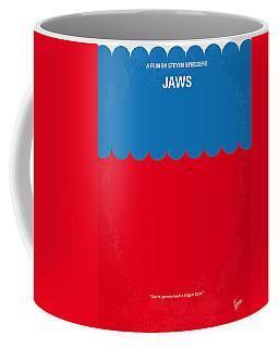 No046 My Jaws Minimal Movie Poster Coffee Mug