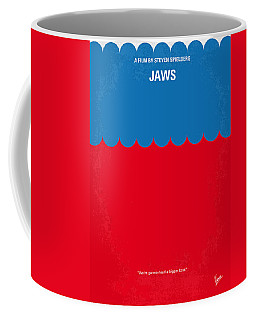 No046 My Jaws Minimal Movie Poster Coffee Mug
