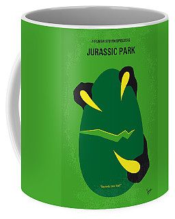 No047 My Jurassic Park Minimal Movie Poster Coffee Mug