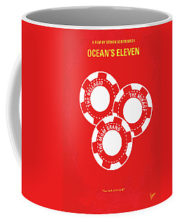 No056 My Oceans 11 Minimal Movie Poster Coffee Mug