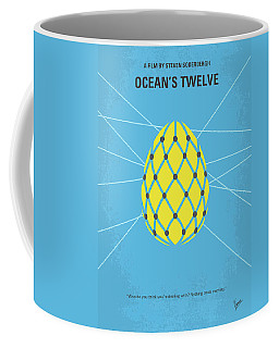 No057 My Oceans 12 Minimal Movie Poster Coffee Mug