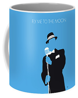 No059 My Sinatra Minimal Music Poster Coffee Mug