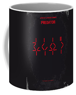 No066 My Predator Minimal Movie Poster Coffee Mug