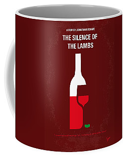 No078 My Silence Of The Lamb Minimal Movie Poster Coffee Mug