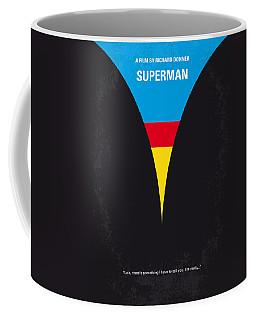 No086 My Superman Minimal Movie Poster Coffee Mug