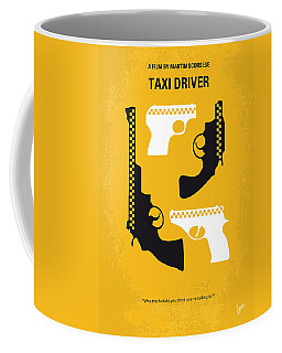 No087 My Taxi Driver Minimal Movie Poster Coffee Mug