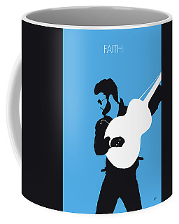 No089 My George Michael Minimal Music Poster Coffee Mug