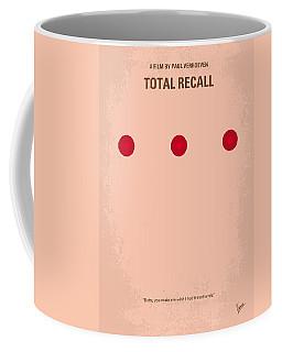 No097 My Total Recall Minimal Movie Poster Coffee Mug