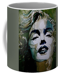 No10 Larger Marilyn  Coffee Mug by Paul Lovering