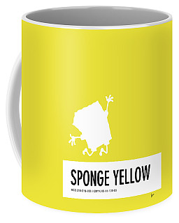 No10 My Minimal Color Code Poster Spongebob Coffee Mug