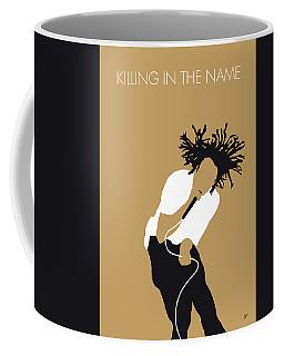 No100 My Rage Against The Machine Minimal Music Poster Coffee Mug