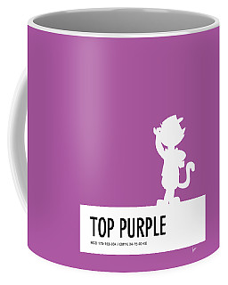 No11 My Minimal Color Code Poster Top Cat Coffee Mug