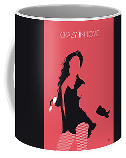No122 My Beyonce Minimal Music Poster Coffee Mug