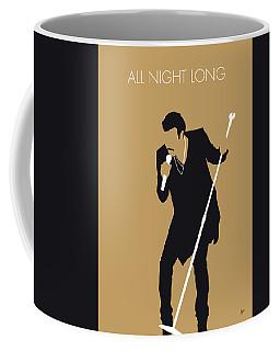 No130 My Lionel Richie Minimal Music Poster Coffee Mug