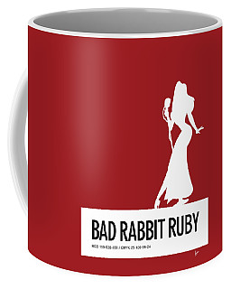 No14 My Minimal Color Code Poster Jessica Rabbit Coffee Mug