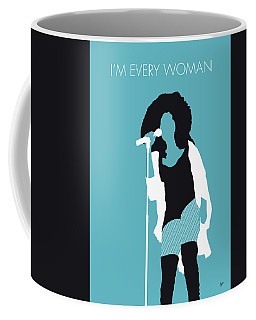 No155 My Chaka Khan Minimal Music Poster Coffee Mug