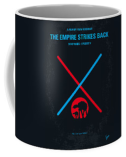 No155 My Star Wars Episode V The Empire Strikes Back Minimal Movie Poster Coffee Mug by Chungkong Art