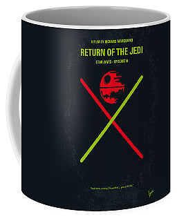 No156 My Star Wars Episode Vi Return Of The Jedi Minimal Movie Poster Coffee Mug
