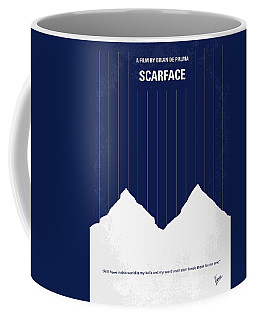 No158 My Scarface Minimal Movie Poster Coffee Mug