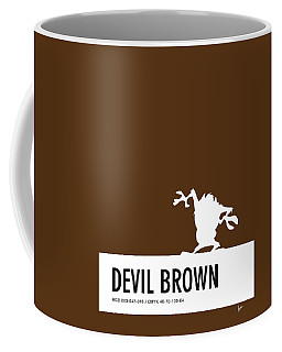 No16 My Minimal Color Code Poster Tasmanian Devil Coffee Mug