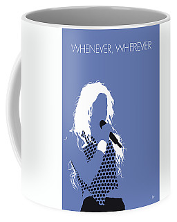 No168 My Shakira Minimal Music Poster Coffee Mug