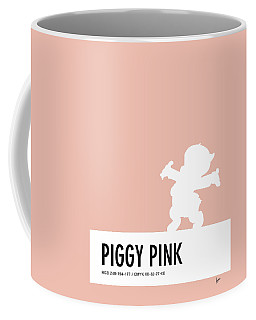 No17 My Minimal Color Code Poster Porky Pig Coffee Mug