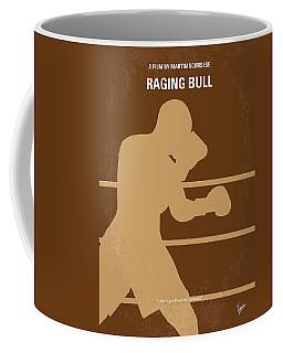 No174 My Raging Bull Minimal Movie Poster Coffee Mug