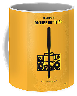 No179 My Do The Right Thing Minimal Movie Poster Coffee Mug