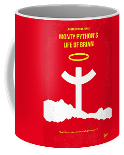 No182 My Monty Python Life Of Brian Minimal Movie Poster Coffee Mug