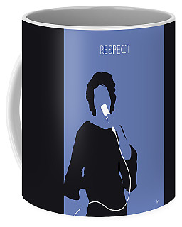 No188 My Aretha Franklin Minimal Music Poster Coffee Mug