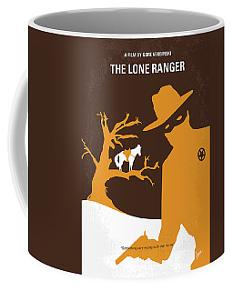 No202 My The Lone Ranger Minimal Movie Poster Coffee Mug