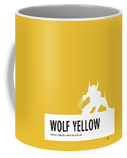 No21 My Minimal Color Code Poster Wolverine Coffee Mug