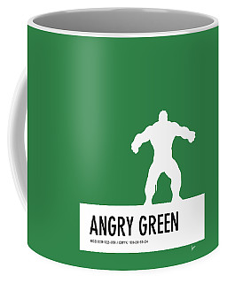 No22 My Minimal Color Code Poster Hulk Coffee Mug