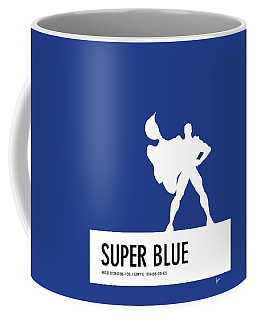 No23 My Minimal Color Code Poster Superman Coffee Mug