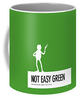 No25 My Minimal Color Code Poster Kermit  Coffee Mug