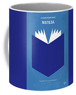 No291 My Matilda Minimal Movie Poster Coffee Mug