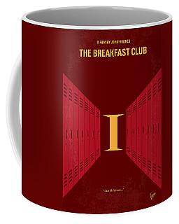 No309 My The Breakfast Club Minimal Movie Poster Coffee Mug