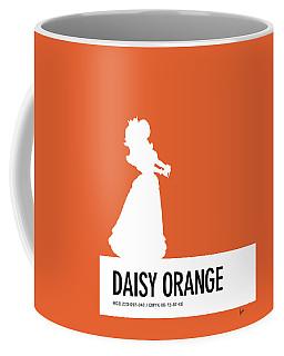 No35 My Minimal Color Code Poster Princess Daisy Coffee Mug
