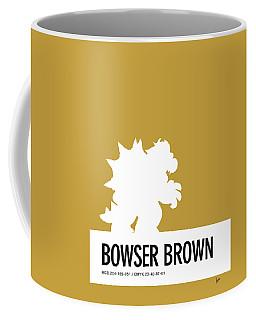 No38 My Minimal Color Code Poster Bowser Coffee Mug