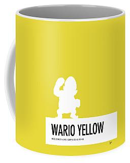 No43 My Minimal Color Code Poster Wario Coffee Mug